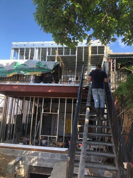 Build Addition At Rear Yard From Basement Up To Second Floor Lion Joint